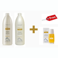 Lote Diamond Shampoo y Conditioner + Cristalli Liquidi gratis