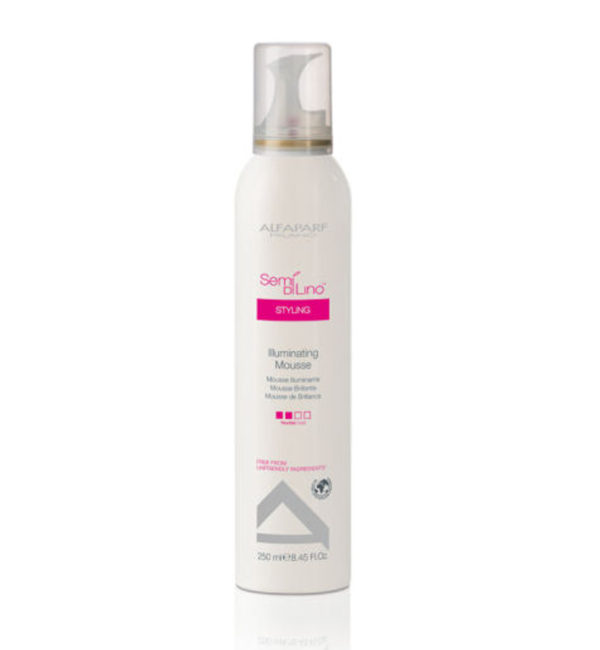 Semi Di Lino Styling Illuminating Mousse Brillante
