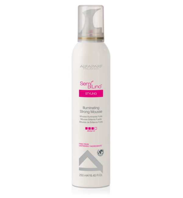 Semi Di Lino Styling Illuminating Mousse FUERTE
