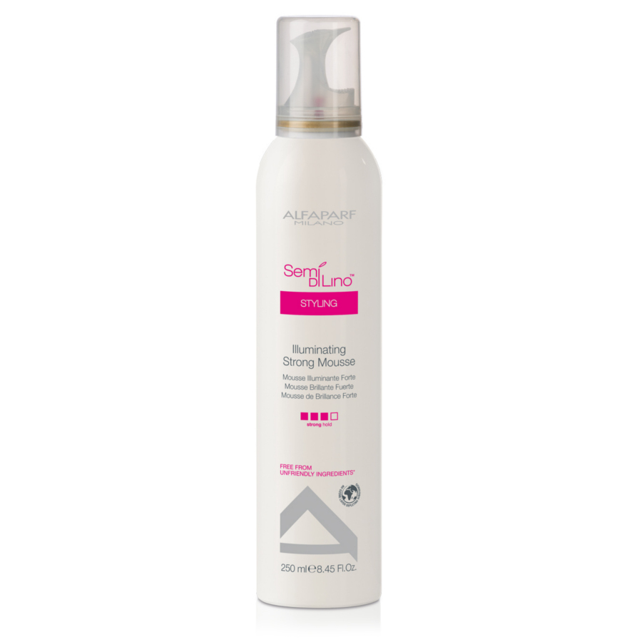 Alfaparf Semi Di Lino Styling Illuminating Strong Mousse