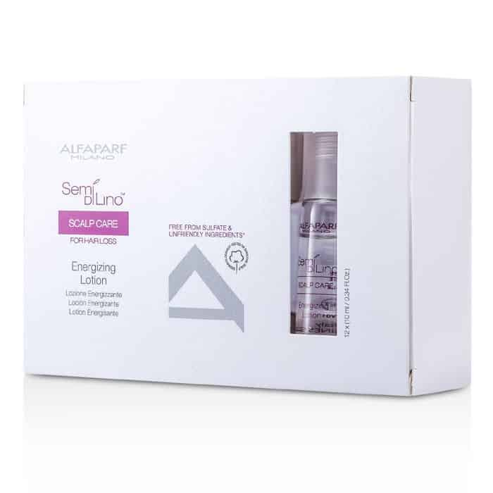 Alfaparf Semi Di Lino Scalp Care Hair Loss Vials Energizing Lotion