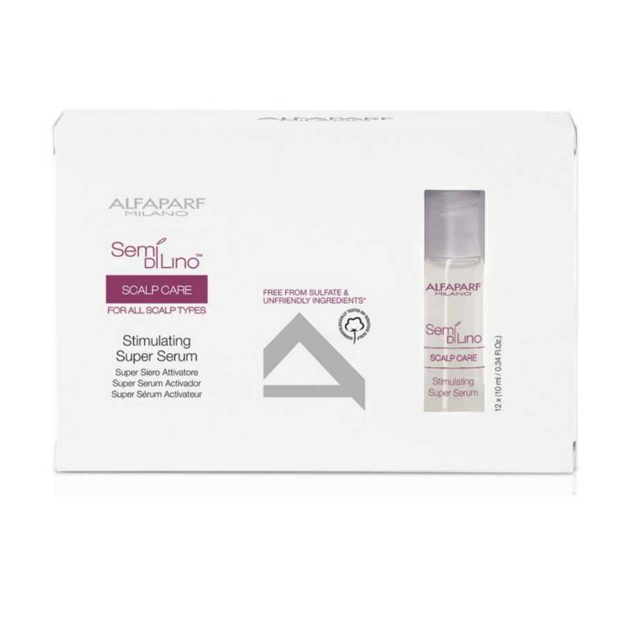 Alfaparf Semi Di Lino Scalp Care Stimulating Super Serum