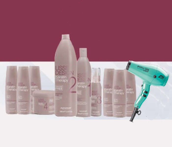 Lisse Design Keratin Therapy Kit Curly Hair
