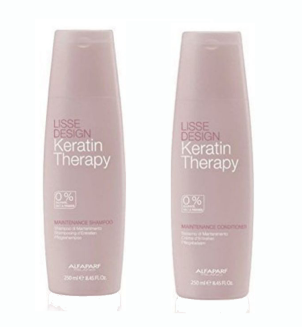 ALFAPARF LISSE DESIGN SHAMPOO Y CONDITIONER