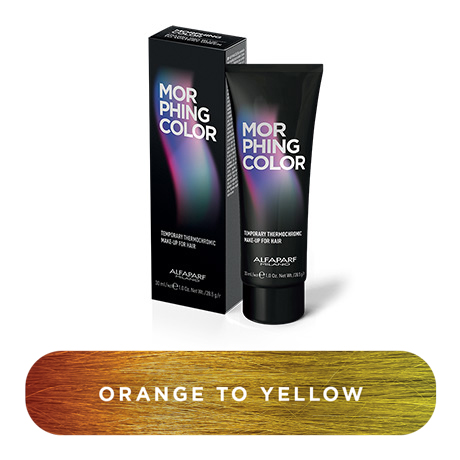 Morphing color orange to yellow